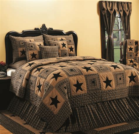 home decor bed sheets country home decor a customer favorite vintage star in black