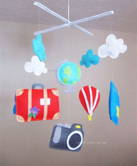 baby themes download for mobile travel theme baby mobile travel crib mobile by lovelyfriend