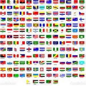 Names And Pictures Country Names In Esperanto Memrise
