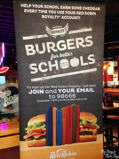 Check Red Robin Gift Card Balance - burgers for better schools at red robin my boys and their toys