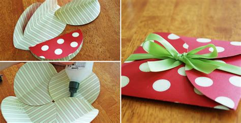 How To Make A Gift Card Envelope Out Of Paper - how to make paper circles envelope diy crafts handimania