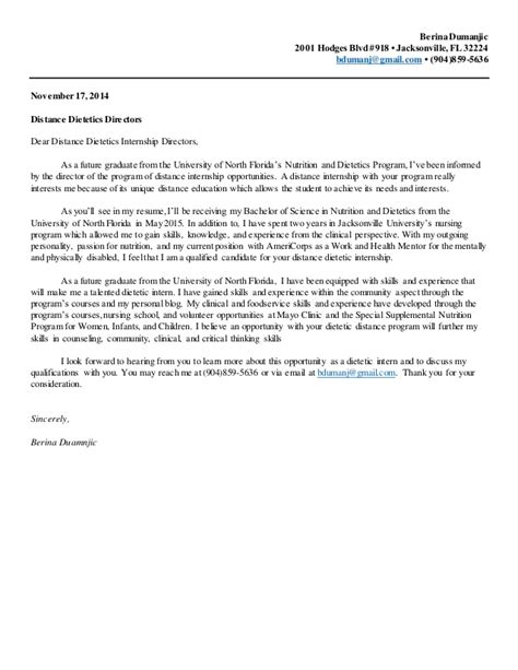 sample cover letter for internship 9 examples in word pdf