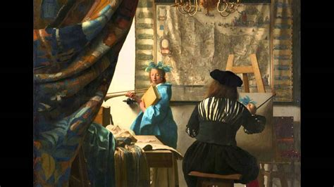the art of the johannes vermeer the art of painting youtube