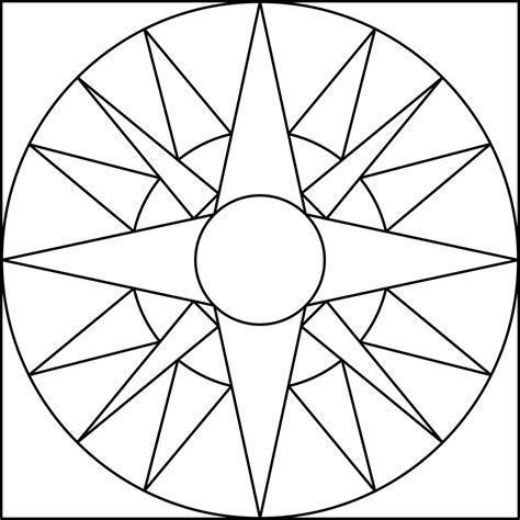 coloring pages of geometric patterns simple geometric designs coloring pages www pixshark com