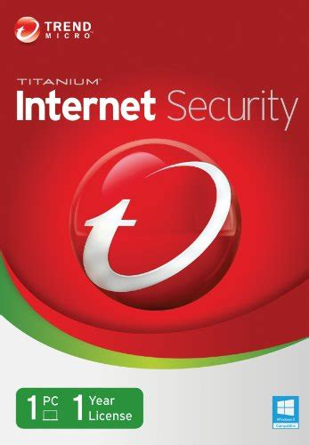 Trend Micro Security trend micro titanium security 2014 1 user recomended products