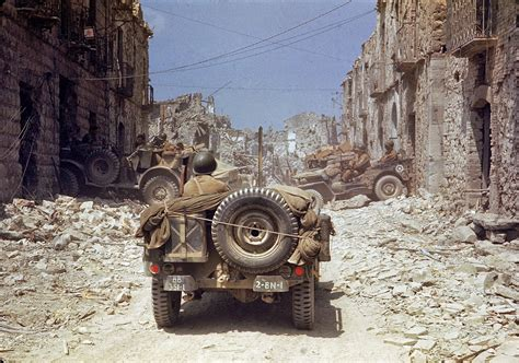 wwii jeep 27 rare color photographs from world war ii vintage everyday
