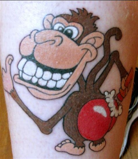 monkey belly button tattoo monkey tattoos monkey ink designs 13 monkey design