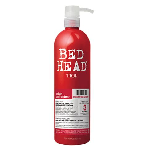 bed head products tigi bed head urban antidotes level 3 resurrection