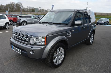 land rover 0 finance used 2011 land rover discovery 4 tdv6 xs 3 0 diesel auto 7