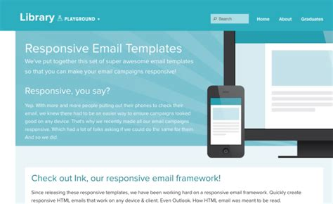 responsive stylesheet template 5 free and responsive email templates