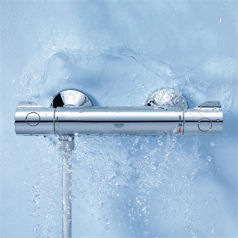 Grohe Bath Shower Mixer grohe grohtherm 800 thermostatic shower mixer wall