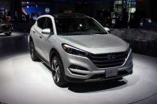 Hyundai Tucson L 2016 Hyundai Tucson Debuts At The New York Auto Show
