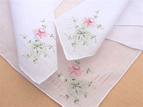 Embroidery Designs Handmade - beautiful handmade handkerchiefs