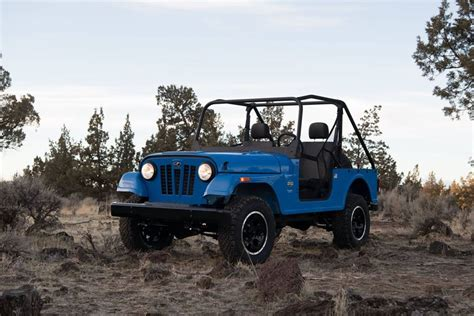 mini jeep wrangler for mahindra roxor is one bad mini jeep but there s a