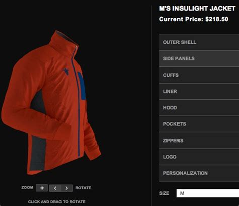 app design jacket click choose online app lets you design custom jacket