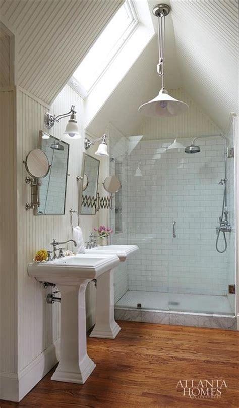 how to put up beadboard in bathroom atlanta homes lifestyles bathrooms white beadboard