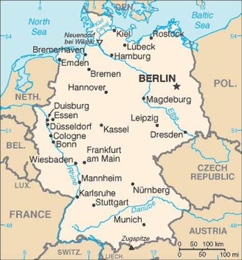 netherlands borders map map germany
