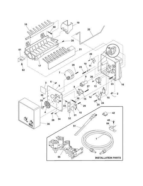 frigidaire gallery refrigerator parts diagram frigidaire gallery refrigerator parts diagram automotive