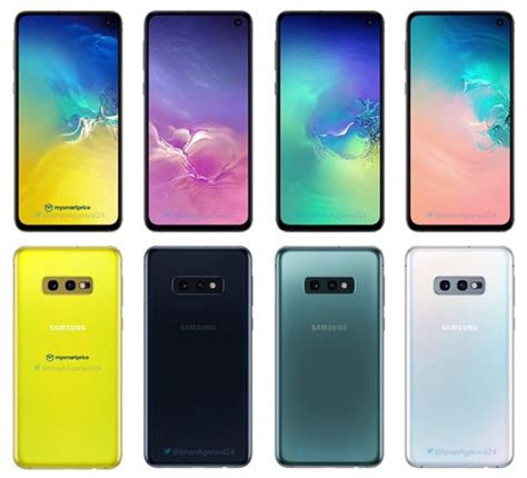 samsung galaxy s10 series colour options revealed gizchina