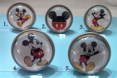 mickey mouse knobs bedroom dresser knobs glass nursery