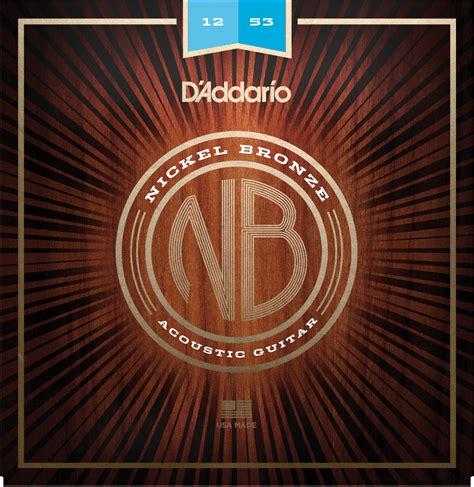 d addario nickel bronze acoustic 012 053 nb1253