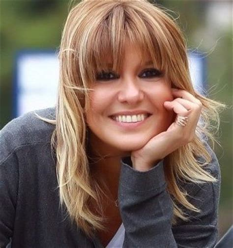 how to foil shorter bangs medium blonde with caramel and blond highlights medium