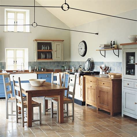 colourful country kitchen freestanding kitchen ideas housetohome co uk