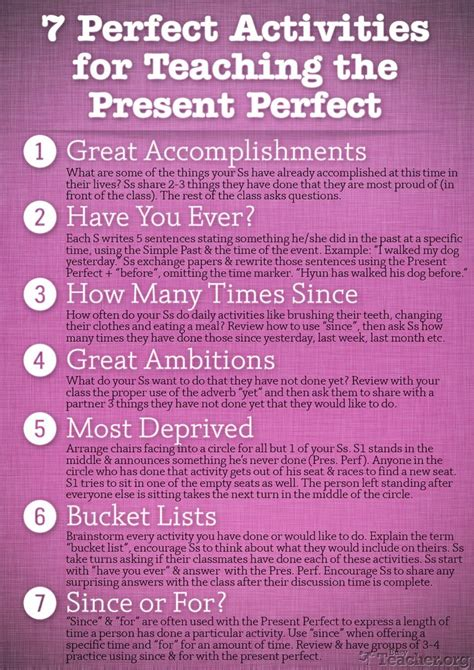 teaching tenses ideas for 0952280868 25 best ideas about present perfect on english language learning easy english