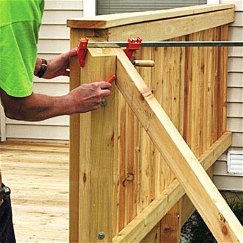 How To Install Handrail On Deck Stairs Adding The Stair Railing Sloped Site Decks How To