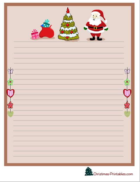 free printable christmas paper templates free printable christmas stationery