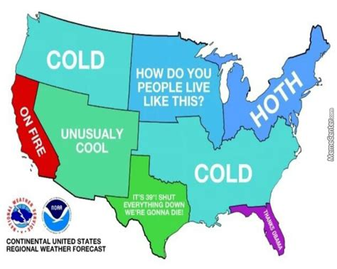 us weather map california lol u s weather be like by darkassassin999 meme center