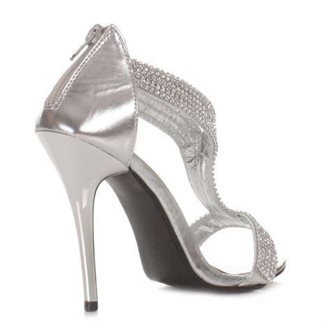 silver high heels deals on 1001 blocks