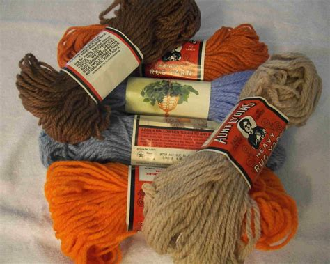 caron heavy rug yarn lydias and caron heavy rug yarn mixed colors other