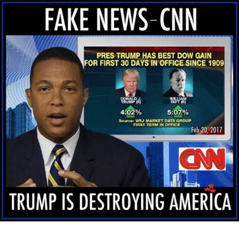Cnn Meme - funniest donald trump vs cnn fake news memes photo wishmeme