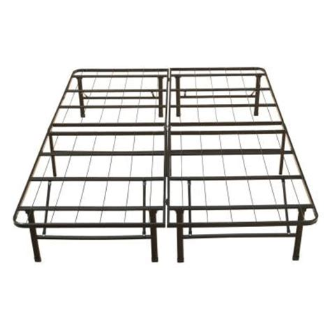 Metal Cal King Bed Frame California King Rest Rite Metal Platform Bed Frame Mfp00112bbck The Home Depot