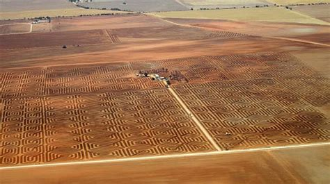 fighting architecture and design erosion australian farmer fights erosion with a patchwork of