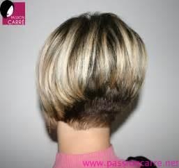 coiffure carre plongeant