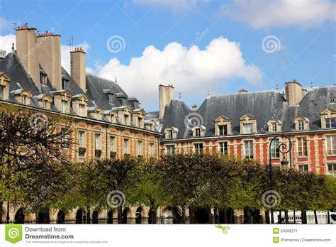 casa parigi arquitetura francesa casas em imagem de stock