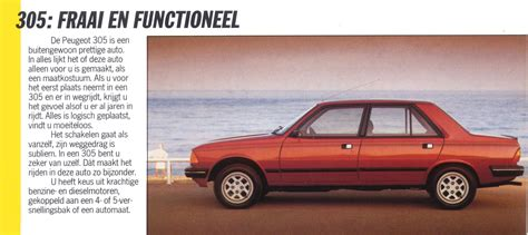 peugeot range 1985 peugeot range brochure