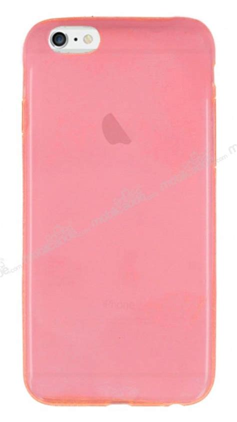 Silikon Spotlite Iphone 6 iphone 6 plus 6s plus ultra 莢nce 蝙effaf pembe silikon