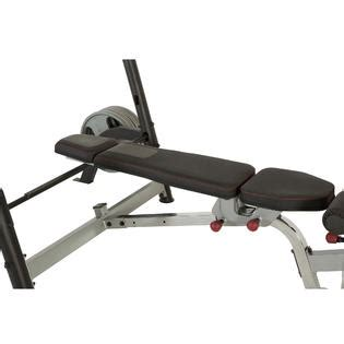 ironman weight bench ironman x class weight bench with detachable leg hold down