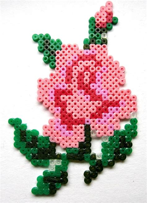 bead of roses kawaii hama pearler bead