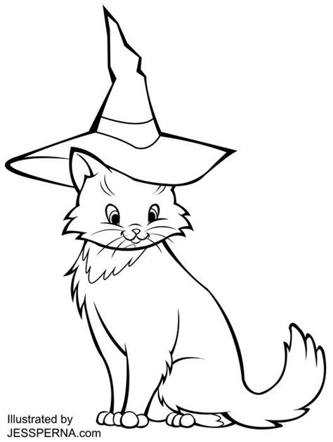 halloween cat coloring page 331 best images about grandma on pinterest halloween