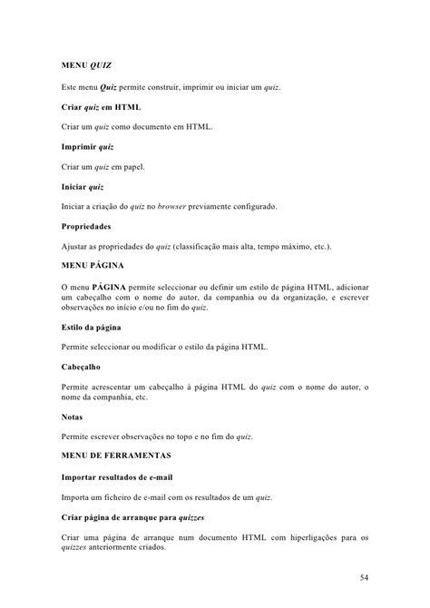 Manual Quiz Faber