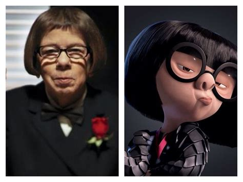 linda hunt the incredibles edna mode celebrity incredibles live action fan cast