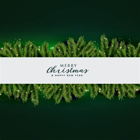 christmas tree leaves background design   vector art stock graphics images