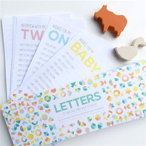 Gift Letter To Child Keepsake Letters Baby Shower Gift Ideas Letter To Your Child