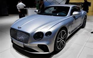 new motor car new 2018 bentley continental gt revealed at frankfurt