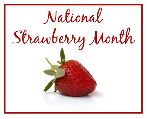 Strawberry Chocolate This Month april 2015 scrumptious