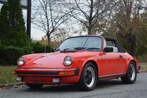 1983 porsche 911 sc cabriolet for sale 1983 porsche 911sc cabriolet stock 20712 for sale near